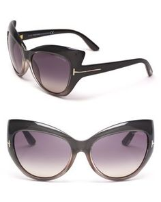 Tom Ford Bardot Sunglasses..the shape of these sunglasses are so cute