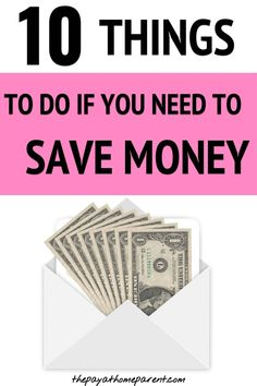 Save money tips - If you need money now, you need to start doing these 10 things! Need Money Now, Make Money Fast, Ways To Save Money, Make Money From Home, Best Money Saving Tips, Money Tips, Saving Money, Earn Money Online, Make Money Blogging
