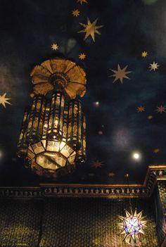 dark blue night ceiling stars - Google Search