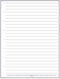 Printable Lined Paper  Jpg And Pdf Templates  Template Pdf And