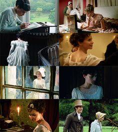Northanger Abbey-Jane Austen; Mr. Tilney and Catherine Moreland : Masterpiece Theater version on PBS