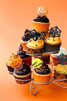 20 idées de cupcakes pour décorer votre repas d'Halloween ! | w3sh.com