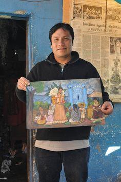 Demetrio and Painting Restaurant Mexicano, Mexico People, Diego Rivera, So Creative, Iglesias, Mexican Folk Art, Ceramic Artists, Craftsman, Cactus