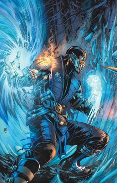 MORTAL KOMBAT X #1 Written by SHAWN KITTELSEN Art by DEXTER SOY Scorpion variant cover by IVAN REIS Sub-Zero variant cover by IVAN REIS 1:10 Video game art cover On sale JANUARY 7 • 40 pg, FC, $3.99 US • DIGITAL FIRST