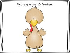 {FREEBIE} Talking Turkey: A Counting & Cardinality Game