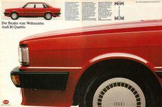 #Audi 80 quattro (1983) #tradition
