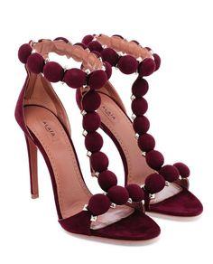 AZZEDINE ALAÏA ~ Studded Suede Sandals  £875