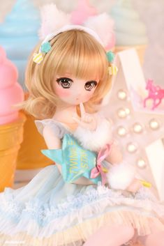 dolls ever after high Click Visit link above for more info - Caring For Your Collectable Dolls. new reborn baby dolls boys Kawaii Doll, Kawaii Cute, Kawaii Anime, Ball Jointed Dolls, Pretty Dolls, Beautiful Dolls, Ooak Dolls, Blythe Dolls, Personajes Monster High