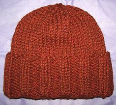 A quick and simple hat, sized to fit an average adult, adjust length as needed to fit. Pattern takes a little less than a skein of Wool-Ease Thick & Quick but any similar super bulky yarn will work. Give Brown Sheep Burly Spun a try or double strand a heavy worsted such as Lamb's Pride Worsted, or even triple strand a DK or light worsted such as Ella Rae Marls.