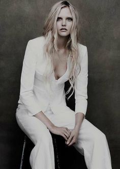 Ghostly Elegant Editorials - The Lida Baday SS 2012 Campaign is Faded and Gorgeous (GALLERY)