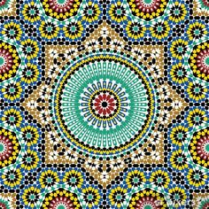 Illustration about Traditional Arabic Design Seamless Pattern. Illustration of traditional, decor, architecture - 35294989 Moroccan Art, Moroccan Design, Moroccan Tiles, Moroccan Garden, Moroccan Bedroom, Moroccan Lanterns, Moroccan Interiors, Morrocan Patterns, Tile Patterns