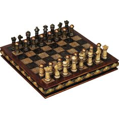 $25.95 Complete chess set. Product: Chess set    Construction Material: Polystone  Color: Multi