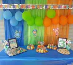 Team Umizoomi Birthday Party Ideas | Photo 3 of 6 | Catch My Party