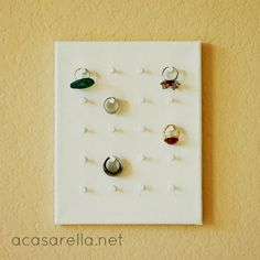 Hometalk :: Display Your Rings on this DIY Ring Holder!