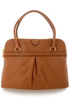 MARC JACOBS RALEIGH Camel Leather Bag