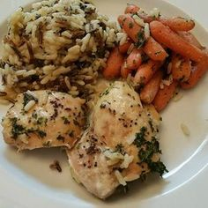 21 Day Fix Approved! Wild Rice and Chicken Bake Dinner!  http://kendrafletcherfitness.com/2015/09/10/21-day-fix-recipe-wild-rice-and-chicken-bake/