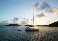 Sailing in BVI