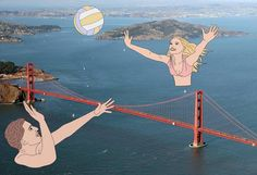 Illustrations Playfully Over Photos by Julia Borzucka — 5 things I learned today