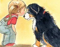 Bildergebnis für bernese mountain dog comic