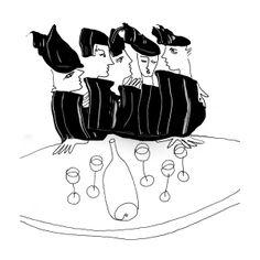 Personnes - pipelettes par Phérivong Philippe, via Behance