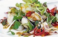 insalata con calamaretti: un'insalata semplice, ma, buonissima....
