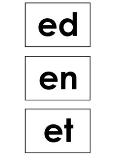 phonics printable template