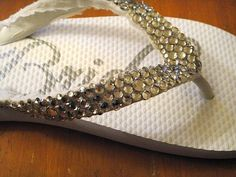OK, Be a Little Afraid to Bedazzle Yourself :  wedding crafts diy shoes 23 23
