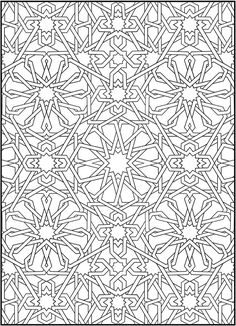 Creative Haven Mosaic Masterpiece: Dover Publications Samples