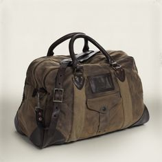 RRL Fairbanks Canvas Duffle