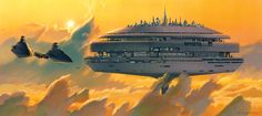 """Ralph McQuarrie, the artist who transformed George Lucas's rudimentary concepts and earliest scripts into lush, vivid images of intergalactic expanse and light-saber combat that became the visual core of the """"Star Wars"""" saga, died on Saturday at his home in Berkeley, Calif. He was 82."""