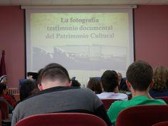 Intervención de Antonio Cabello en la segunda sesión de la VIII Jornada FOTODOC, con el título: La Fotografía testimonio documental del patrimonio cultural