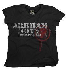 """"""" Playera Arkham City """"  Morra  disponible en www.kingmonster.com.mx"""