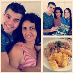 Almoço com a família