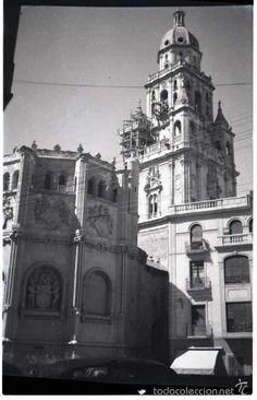 MURCIA 1951. 8 NEGATIVOS FOTOGRÁFICOS B/N, 6X9 CM. ORIGINALES. INEDITOS. PERFECTOS. (Fotografía Antigua - Gelatinobromuro)