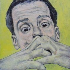 "Saatchi Online Artist Tamas Szikszay; Painting, ""Concentration"" #art"