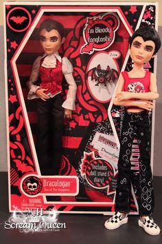 Monster High Draculaugan!!