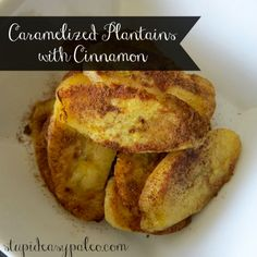 Caramelized Plantains with Cinnamon | stupideasypaleo.com #paleo