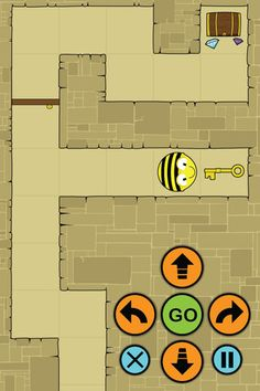 Bee-Bot Pyramid ($0.99) Control Bee-Bot through a series of 12 levels of an ancient Egyptian pyramid, unlocking doors, collecting treasure and out-smarting Mummies as you go. A fun educational Numeracy game which encourages directional language, sequencing and problem solving. Teaches children how to direct and move their Bee-Bot character by giving it a set of sequential commands that they programme in, by pressing the keypad buttons. age 7+