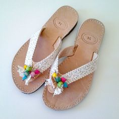 """Kids Leather Sandals """"Paros"""", Handmade Sandals for kids, Girls Sandals, Ethnic Sandals, Greek Leather Sandals, Worldwide Shipping by GlowHandmade on Etsy #glowhandmade #sandals #leathersandals #greeksandals #greekislands #parosandals #paros"""