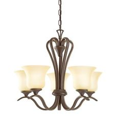 The Wedgeport Collection, in an Olde Bronze finish with Umber Etched glass, brings a graceful elegance to your home. The flowing lines and well-formed glass of this five-light LED uplight chandelier create the perfect transitional style for today's homes. Bronze Chandelier, 5 Light Chandelier, Chandelier Shades, Chandeliers, Transitional Lighting, Transitional Style, Glass Etching, Etched Glass, Residential Lighting