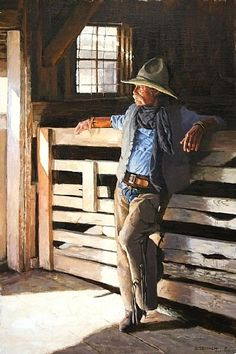 Fading Memories by Barry Eisenach Oil ~ x Western Photo, Western Look, Western Art, Real Cowboys, Cowboys And Indians, Cowgirl And Horse, Cowboy And Cowgirl, Cowboy Images, Country Art