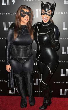 Kim  Kourtney Kardashian Halloween Costumes