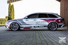 Audi RS6 Avant - Silver Matt & MTCHBX
