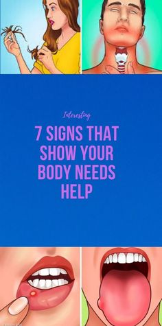 7 Signs That Show Your Body Needs Help – My WordPress Website Fitness Workout For Women, Fitness Diet, Health Fitness, Health And Beauty Tips, Health Tips, Health Facts, Gum Health, Exercise To Reduce Thighs, Health And Fitness Articles