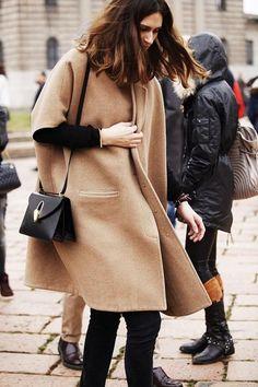Trend: Camel Coats - Fashionscene.nl
