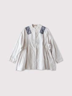 Side gather jaket embroidery 2