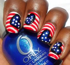 Haute Lacquer: Fourth of July Love