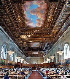 Read at, study in, or just visit the New York Public Library in Bryant Park.
