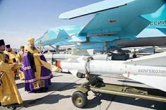 The Bishop blessed the #Russia|n bombers ...