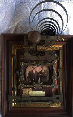 Glimmering Prize: Mixed Media Collage and Assemblage by Lorraine Reynolds: August 2011